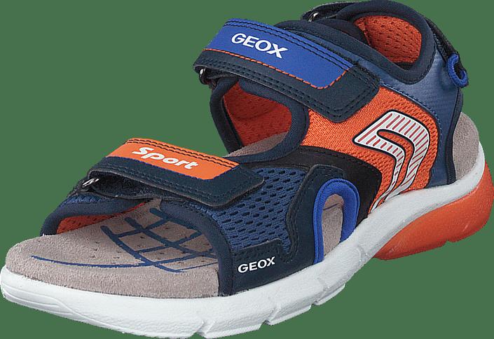 GEOX Sandale navyorange   SPOHR SCHUHE