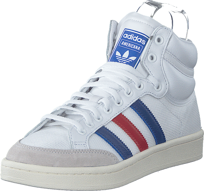 adidas Originals - Americana Hi Ftwr White/collegiate Royal/sc