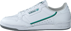 Continental 80 Ftwr White/glory Green/collegi