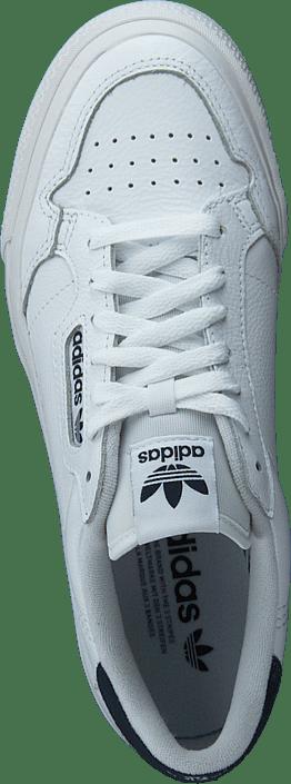 Kjøp Adidas Originals Continental Vulcwr White/ftwr White/collegia Sko Online