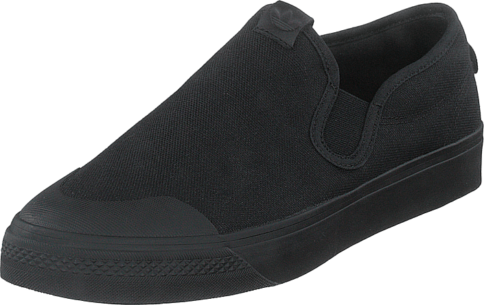 adidas Originals - Nizza Slip On Core Black/core Black/core Bla