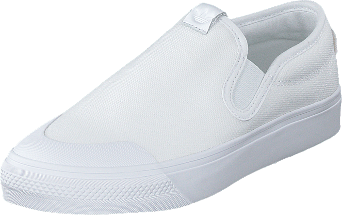 adidas Originals - Nizza Slip On Ftwr White/ftwr White/ftwr Whi