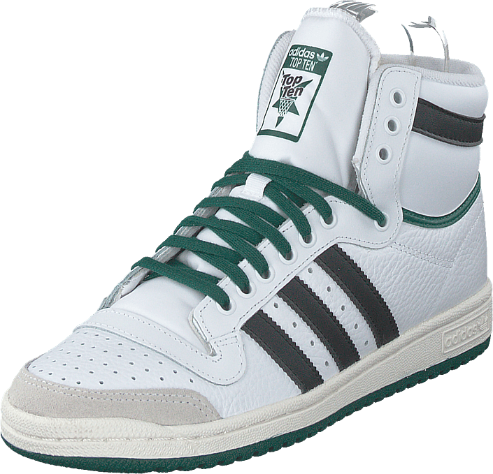 adidas Originals - Top Ten Hi Ftwr White/core Black/collegia
