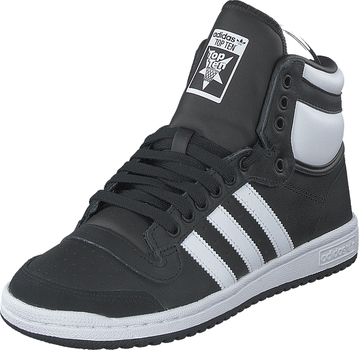 adidas Originals - Top Ten Hi Core Black/ftwr White/core Bla
