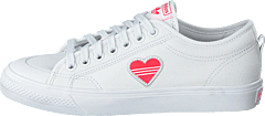 Nizza Trefoil W Crystal White/shock Red/core B
