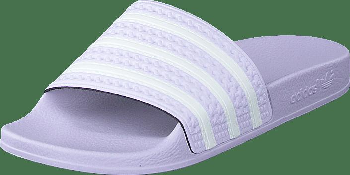 adidas Originals - Adilette W Purple Tint/ftwr White/purple