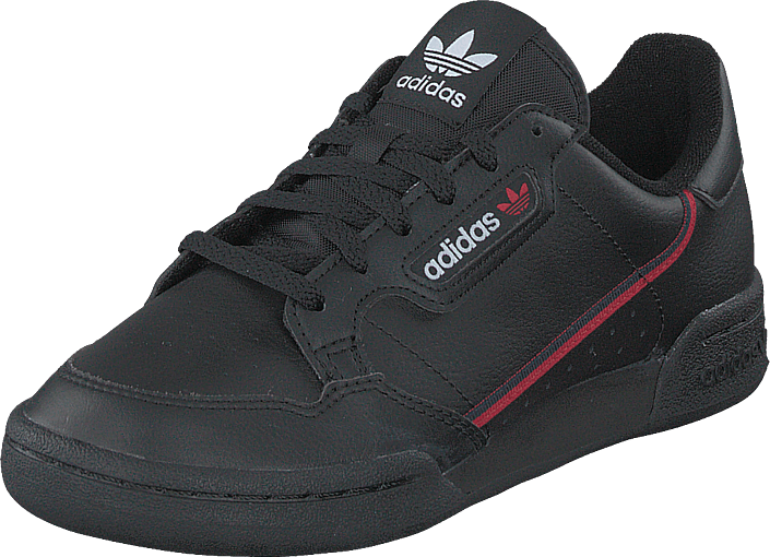 adidas Originals - Continental 80 J Core Black/scarlet/collegiate