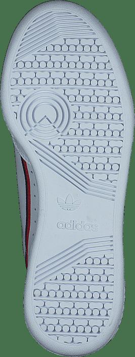 Adidas Originals Continental 80 Jwr White/scarlet/collegiate Schuhe Kaufen Online