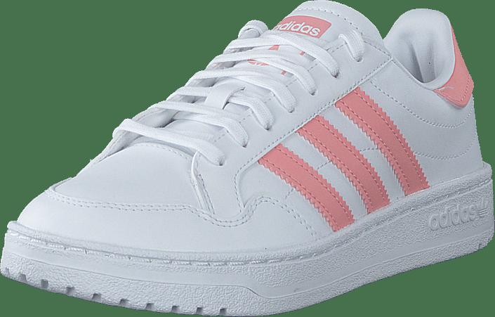 adidas Originals - Team Court J Ftwr White/glory Pink/core Bla
