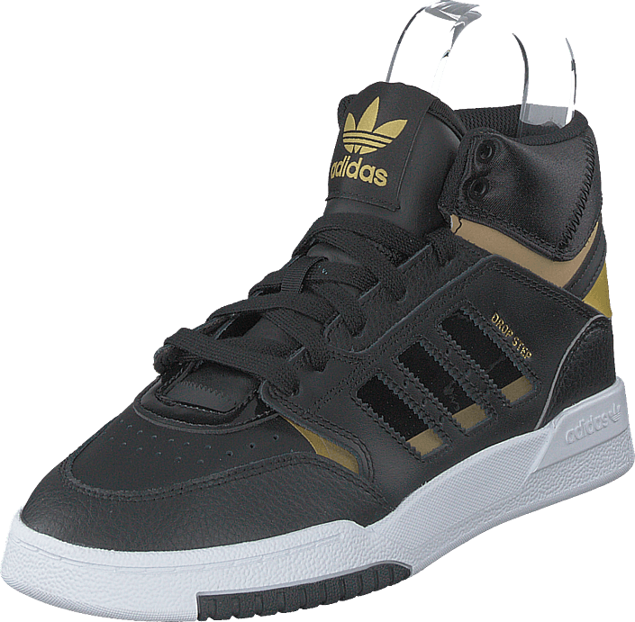 adidas Originals - Drop Step J Core Black/gold Met./ftwr Whit