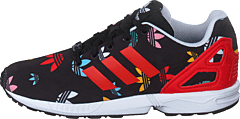 Zx Flux C Core Black/lush Red/ftwr White