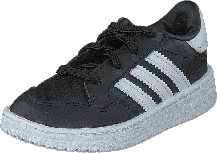 adidas Originals - Team Court El I Core Black/ftwr White/core Bla