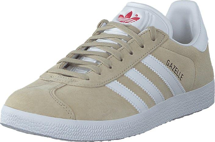 adidas Originals Gazelle W Savannah/ftwr White/glory Red, Skor, Sneakers och Träningsskor, Låga sneakers, Beige, Dam, 39