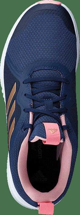 Kjøp Adidas Sport Performance Fortarun X K Tech Indigo/copper Met./glory Sko Online