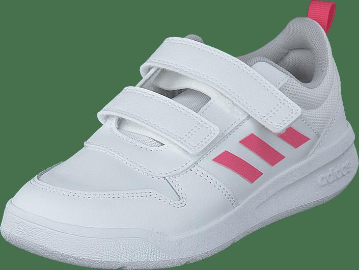 adidas Sport Performance - Tensaur C Ftwr White/real Pink S18/ftwr