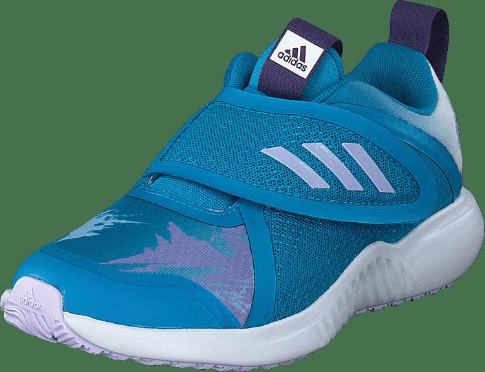 adidas Sport Performance - Fortarun X Frozen C Bold Aqua/purple Tint/ftwr Whi