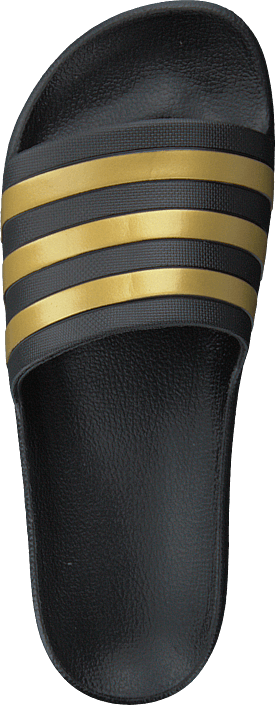 Adilette Aqua Core Black/gold Met./core Blac