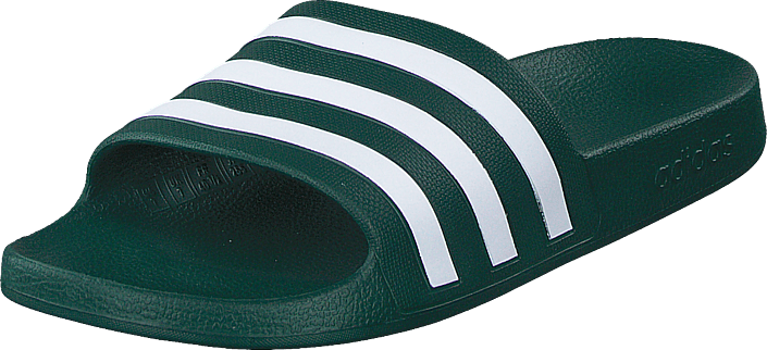 adidas Sport Performance - Adilette Aqua Collegiate Green/ftwr White/co