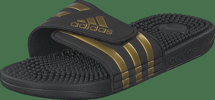 adidas Sport Performance - Adissage Core Black/gold Met./core Blac