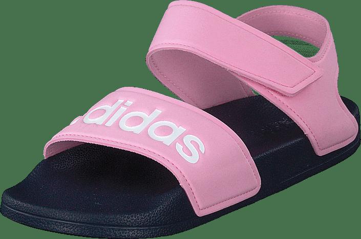 Adilette Sandal K True Pink/ftwr White/trace Blu