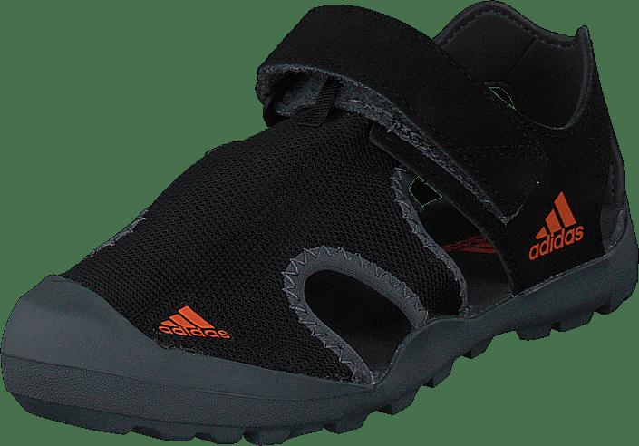 adidas Sport Performance - Captain Toey K Core Black/orange/grey Five