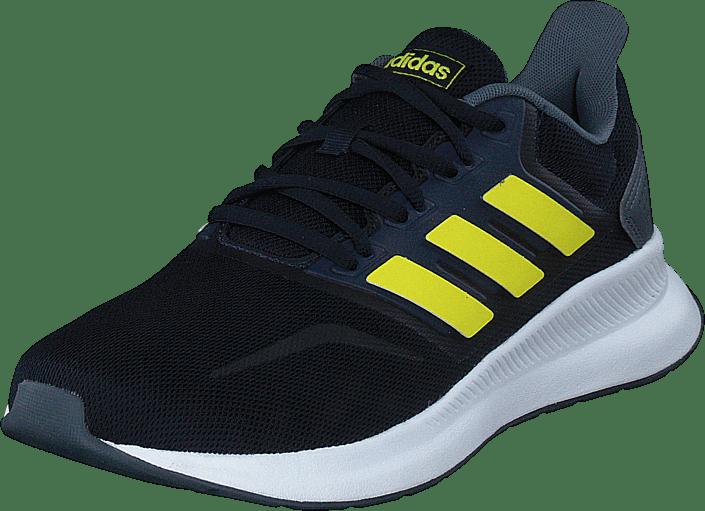 adidas Sport Performance - Runfalcon Legend Ink/shock Yellow/ftwr W