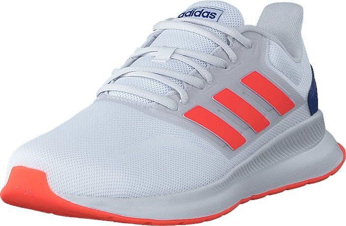 adidas Sport Performance Runfalcon Ftwr White/solar Red/dash Grey, Skor, Sneakers och Träningsskor, Löparskor, Vit, Unisex, 43