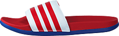 Adilette Comfort Ftwr White/scarlet/team Royal