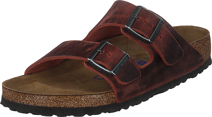 Birkenstock - Arizona Soft Footbed Earth Red