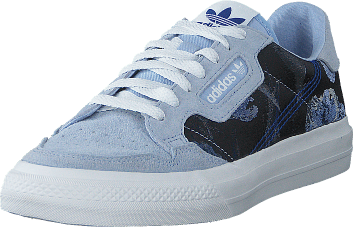adidas Originals - Continental Vulc W Periwinkle/crystal White/team