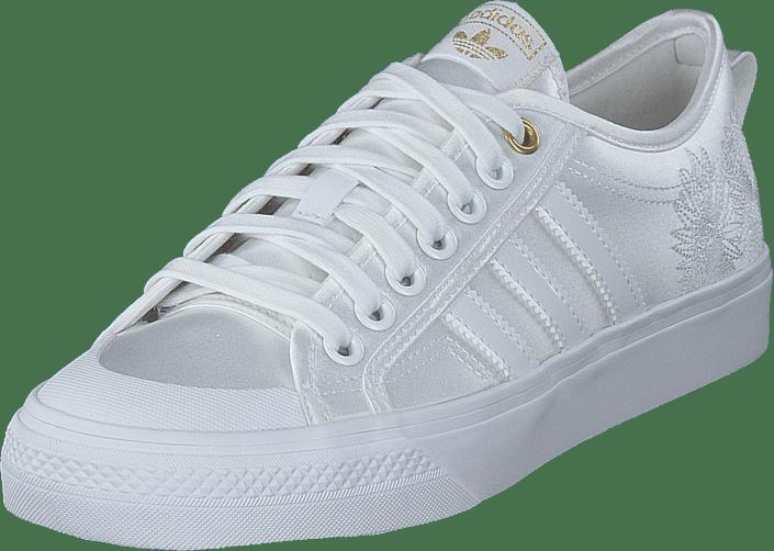 adidas Originals - Nizza W Crystal White/ftwr White/gold