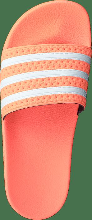 Kjøp Adidas Originals Adilette W Semi Flash Orange/ftwr White/s Sko Online