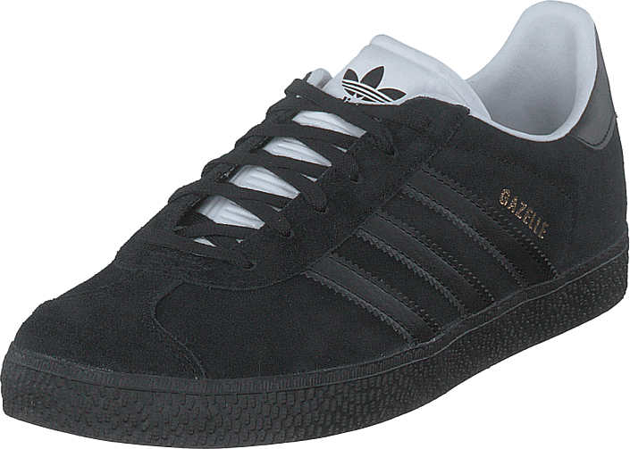 Gazelle J Core Black/core Black/gold Met