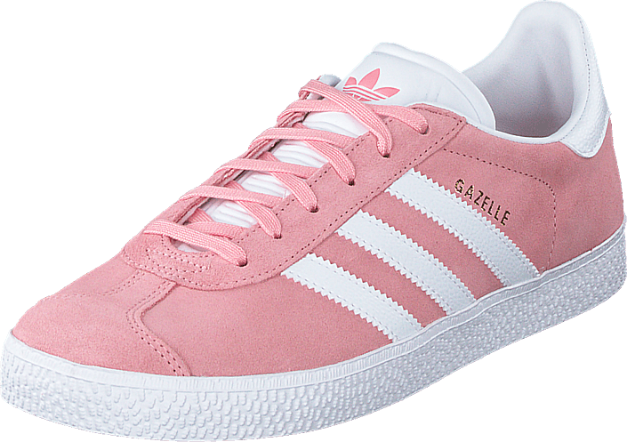 adidas Originals - Gazelle J Glory Pink/ftwr White/gold Met