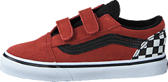 Td Old Skool V (suede) Redwood/black