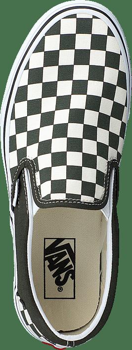 Ua Classic Slip on (checkerboard)forest Nightwht