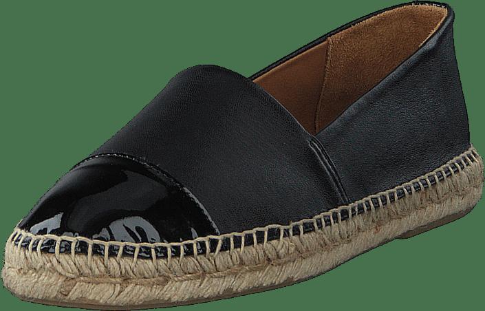 Billi Bi - Espandrillo Black Patent/ Black Nappa