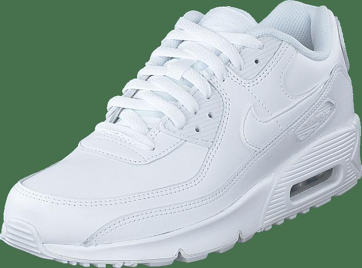 Nike - Air Max 90 Ltr (gs) White/white-mtlc Silver-white