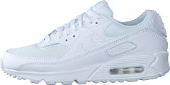 Air Max 90 White/white-white-wolf Grey
