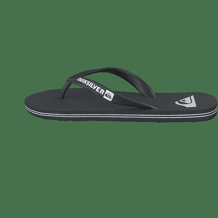 Hommes Chaussures Acheter Quiksilver Molokai Noir/Noir/Blanc Chaussures Online
