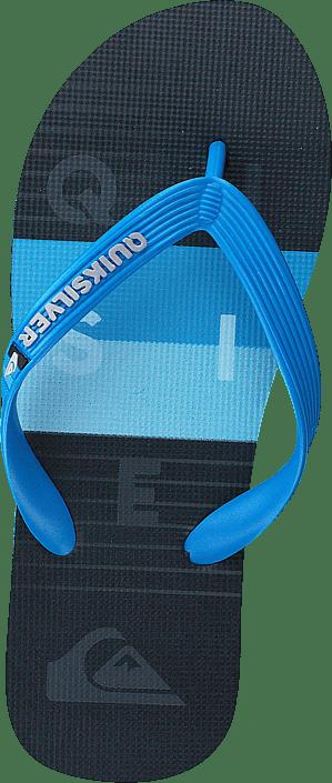 Molokai Wordblock Volley Youth Blue/black/blue