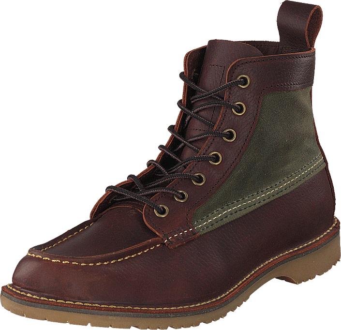 Red Wing - Wacouta 6-inch Moc Briar Oil Slick Leather