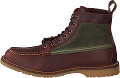 Wacouta 6-inch Moc Briar Oil Slick Leather