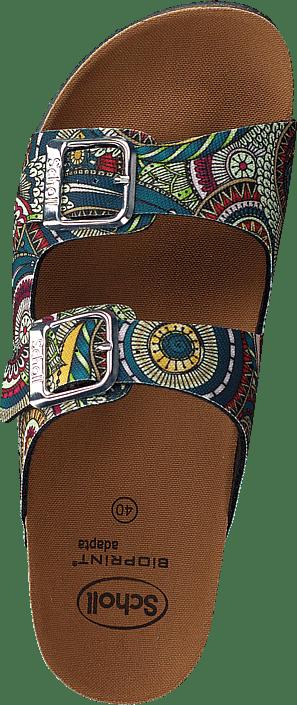 Femme Chaussures Acheter Scholl Greeny Malaren Multi Green Chaussures Online
