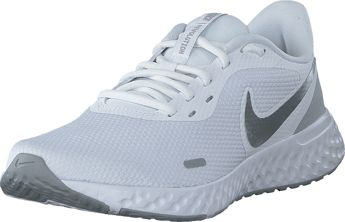 Nike - Wmns Revolution 5 White/wolf Grey-pure Platinum
