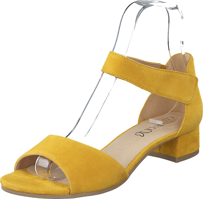 Caprice - Carla Yellow Suede