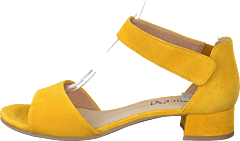 Carla Yellow Suede