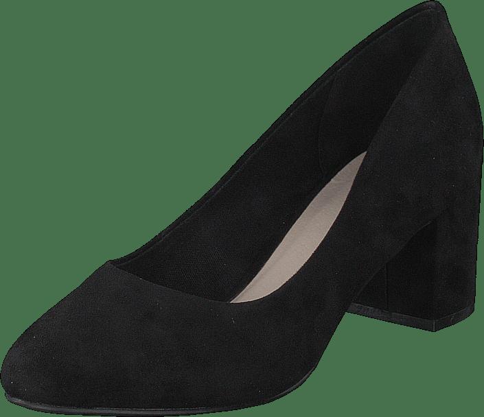 Bianco - Biablanche Blok Heel Pump 101 Black 1
