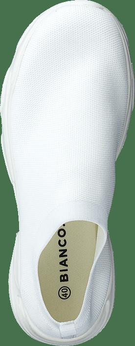 Kjøp Bianco Biacase Knit Sneaker 804 White 4 Sko Online