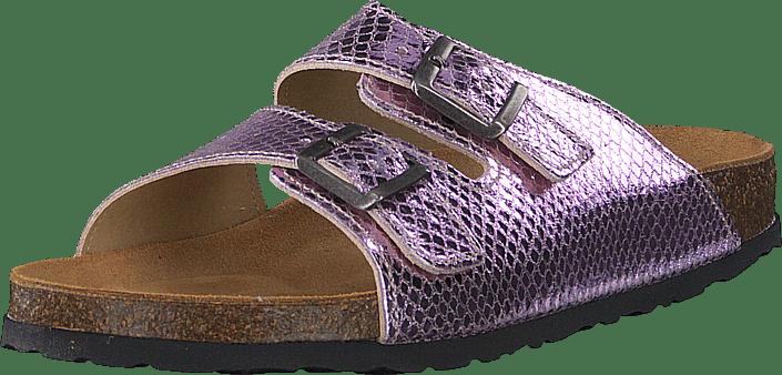 Bianco - Biabetricia Buckle Sandal 468 Pink Snake